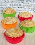 Vijf muffins Stock Afbeeldingen