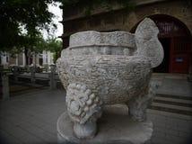 Vijf-pagode Tempel, Peking, China stock afbeelding