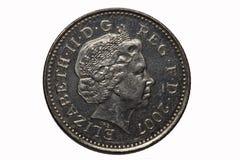 Vijf Pence van het Muntstuk Stock Fotografie