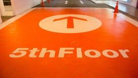 Vijfde verdieping Royalty-vrije Stock Afbeeldingen