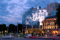 vijfsterren hotel in Kiev Stock Foto's