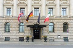 Vijfsterrenhotel - Hotel DE Rome Royalty-vrije Stock Fotografie