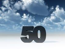 Vijftig vector illustratie