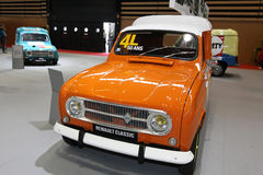 Vijftig jaar voor Renault 4L Royalty-vrije Stock Foto's