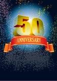 Vijftigste Verjaardag Stock Fotografie