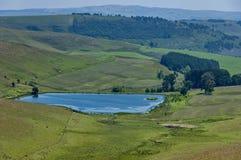 Vijver in Koninklijke Natal National Park in Drakensberg, Stock Foto