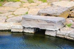 Vijver Snorri Bath Stock Fotografie