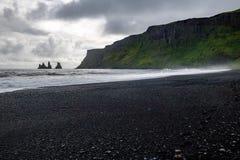 Vik在冰岛 免版税库存照片