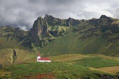 Vik,冰岛。 库存照片