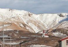 Vik,冰岛村庄  免版税库存图片