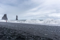 Vik в Исландии Стоковая Фотография