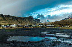 Vik. A beautiful scene in Vik, iceland Stock Photography