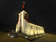 Vik Church, Iceland Stock Photo