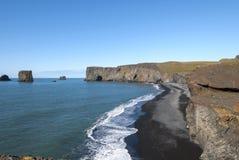 Vik coast in Islanda Stock Images