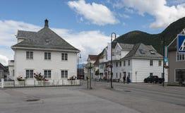 VIk i Norge på sognefjorden Arkivfoto