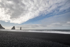 Vik in Iceland Royalty Free Stock Images