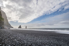 Vik in Iceland Royalty Free Stock Photography