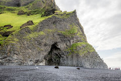 Vik in Iceland Stock Photography