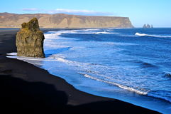 Vik IJsland royalty-vrije stock foto's
