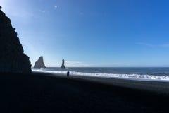 Vik in Island Lizenzfreie Stockfotos