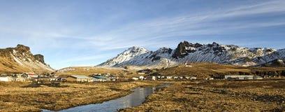 Vik, Islande Images libres de droits