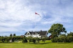 Vik Norway Fotografie Stock Libere da Diritti