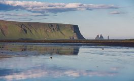 Vik rocks in Iceland Royalty Free Stock Photo