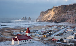 Vik Village Iceland Europe Royalty Free Stock Photography