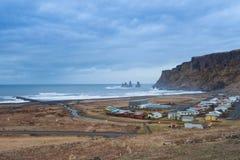 Vik Village - Iceland Stock Photo