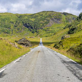 The  Vikafjellsvegen National Tourist Route, Norway Royalty Free Stock Photography