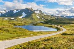 The  Vikafjellsvegen National Tourist Route, Norway Stock Photos