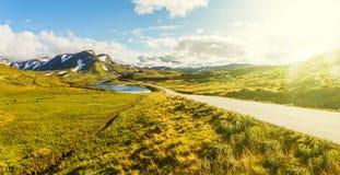 The  Vikafjellsvegen National Tourist Route, Norway Stock Images