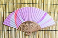 vikande japan för ventilator Royaltyfri Fotografi