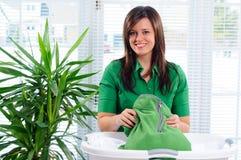vikande tvätteri Royaltyfri Fotografi