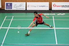 Viki Indra Okvana - badminton Stock Image