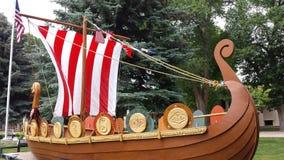 Viking łódź Zdjęcia Royalty Free