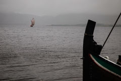 Viking łódź Fotografia Stock