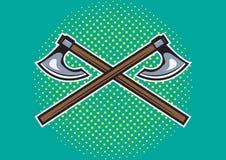 Viking axe Royalty Free Stock Photos