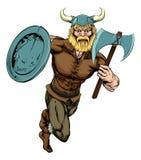 Viking Axe Warrior Image stock