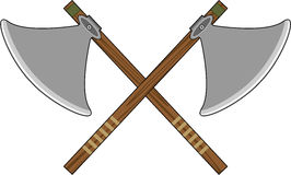 Viking Axes Royalty Free Stock Images
