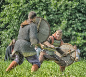 Viking battle Stock Images