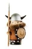 Viking-beeldje royalty-vrije stock afbeelding