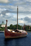 Viking boat Royalty Free Stock Photography