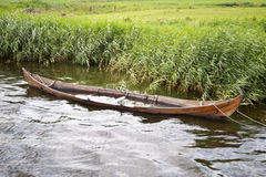 Viking Boat Arkivfoto