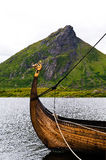 Viking boat Royalty Free Stock Image