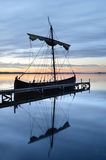 Viking boat Royalty Free Stock Photo