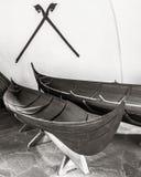 Viking Boat Stock Photo
