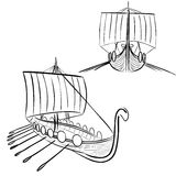 Viking boat 3 Royalty Free Stock Photo