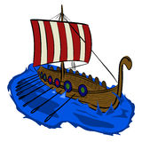 Viking boat 1 Royalty Free Stock Photo