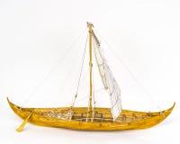 Viking-bootmodel Royalty-vrije Stock Foto